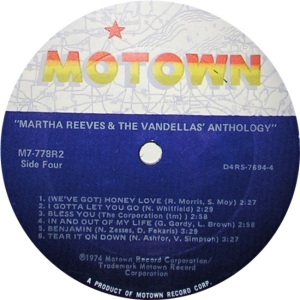 MOTOWN 778 F SEE DISCOGS LIST