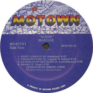 MOTOWN 917 D