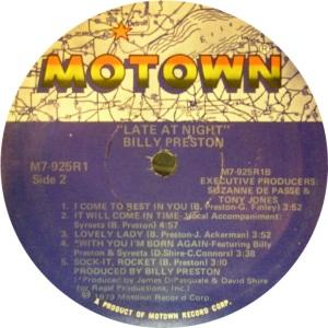 MOTOWN 925 D