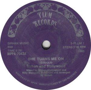 SIRHAN HOLLYWOOD - PLUM 7042
