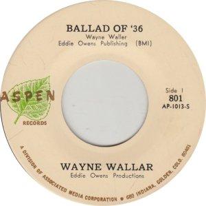 WALLAR - ASPEN 801