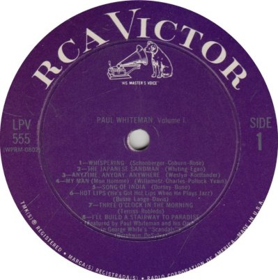 WHITEMAN PAUL - RCA 555 A (1)