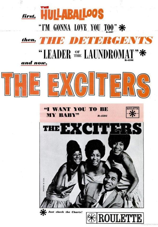 exciters-12-64-i-want-you-to-be-my-baby