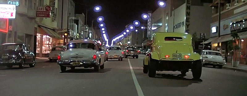 Image result for american graffiti scenes