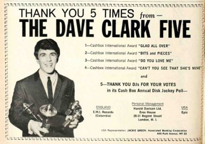 dave clark 5 discography